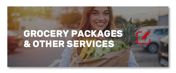 Grocery packages and other services