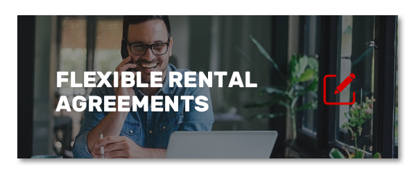 Flexible rental agreements